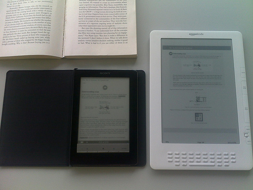Sony i Kindle - PDF inaczej