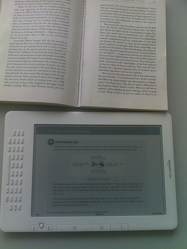Kindle - PDF poziomo