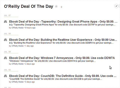 O'Reilly deal of the day